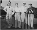 Harold Arlen golfing with Harpo Marx & friends